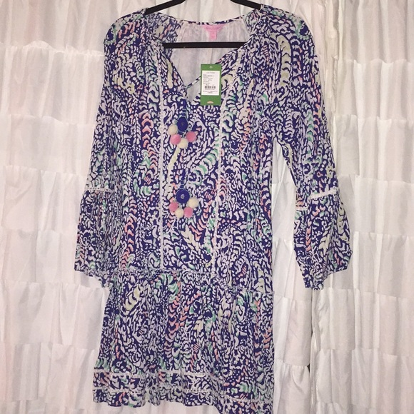 943114ae4c3 Lilly Pulitzer Dresses | Percilla Tunic Dress | Poshmark